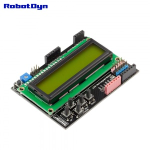 LCD 16x2 + keypad Shield for Arduino