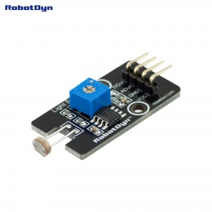 Light Sensor with analog & digital outs