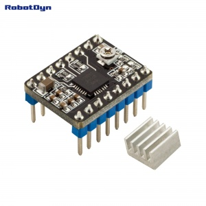 Stepper motor Driver A4988 for 3D printers, with heating sink