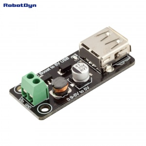 DC-DC Converter StepUp 0.9-5V to 5V USB
