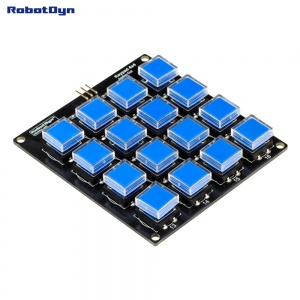 Button Keypad 4x4 module (Assembled)
