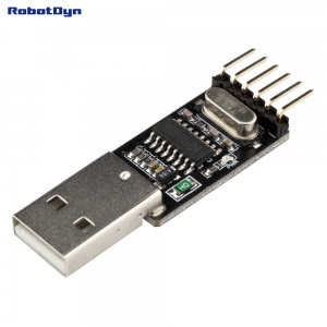 USB-Serial adapter CH340G, 5V/3.3V