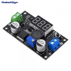 LM2596 DC-DC Step-down Adjustable Power Supply Module with LED display, In: 3-36, Out:1.5-34V/3A