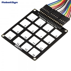 Capacitive Touch Key Pad. 16 keys
