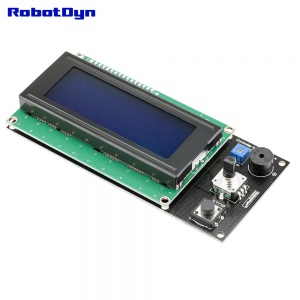 Controller for RAMPS 1.4, LCD 20x4