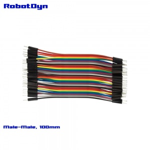 Jumper Dupont wire, Male  to Male (M/M) 3x40L ribbon (4