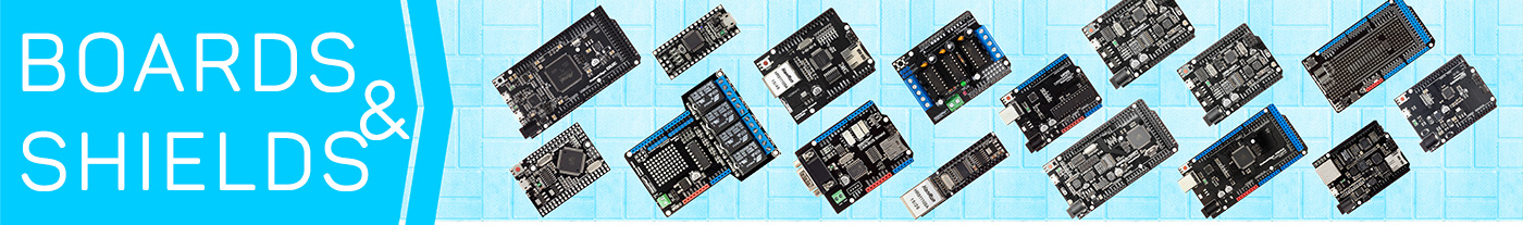 ARDUINO BOARDS & SHIELDS